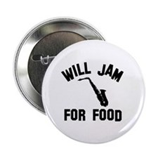 Will jam or play the Alto Saxophone for food 2.25""