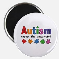 """Autism Expect the unexpected 2.25"""" Magnet (10 pack"""