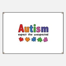 Autism Expect the unexpected Banner