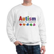 Autism Expect the unexpected Sweatshirt