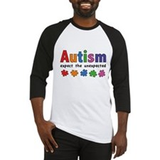 Autism Expect the unexpected Baseball Jersey