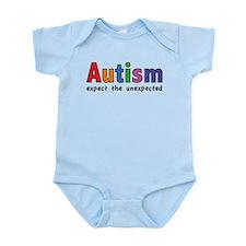 Autism Expect the unexpected Infant Bodysuit