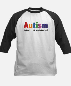 Autism Expect the unexpected Kids Baseball Jersey