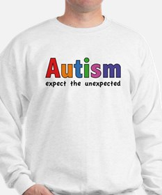 Autism Expect the unexpected Sweatshirt