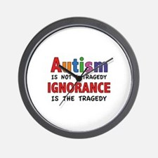Autism Is Not A Tragedy Wall Clock
