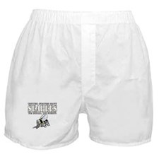 USN Navy Seabees Bee Boxer Shorts