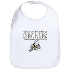 USN Navy Seabees Bee Bib