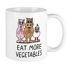 Eat more vegetables Mug