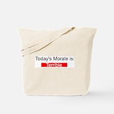 Morale Report Tote Bag