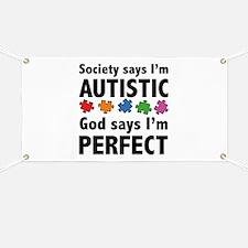 God Says I'm Perfect Banner