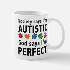 God Says I'm Perfect Mug