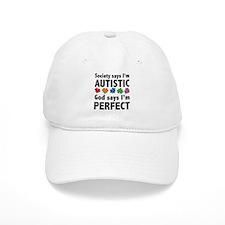 God Says I'm Perfect Baseball Cap