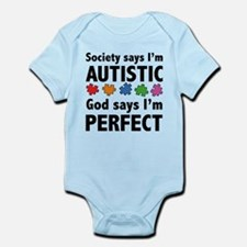 God Says I'm Perfect Infant Bodysuit