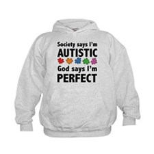 God Says I'm Perfect Hoodie