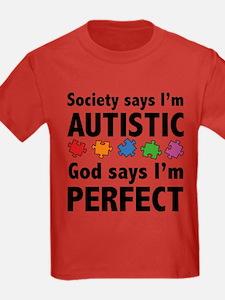 God Says I'm Perfect T