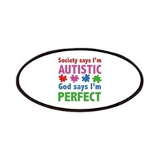 God Says I'm Perfect Patches