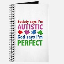 God Says I'm Perfect Journal