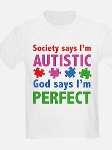 God Says I'm Perfect T-Shirt