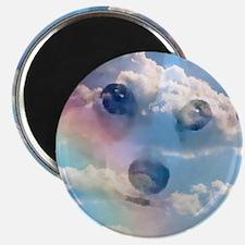 "Sky Corgi 2.25"" Magnet (10 pack)"