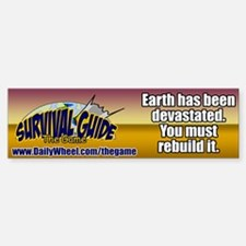Survival Guide the Game Bumper Bumper Bumper Sticker