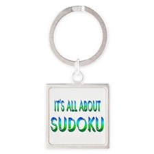 About Sudoku Square Keychain