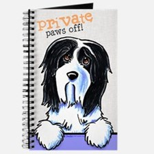 Beardie Private PAWS OFF Journal