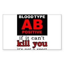 AB Positive Blood Type Dirt Bike Motocross Shirt S