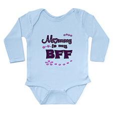 My BFF Long Sleeve Infant Bodysuit