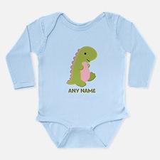 Cute Kids dinosaur Long Sleeve Infant Bodysuit