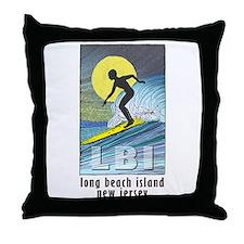 Surfer... Throw Pillow