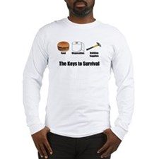Keys to Survival Long Sleeve T-Shirt