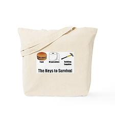 Keys to Survival Tote Bag