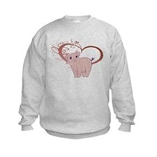 Cute Piggy Art Sweatshirt