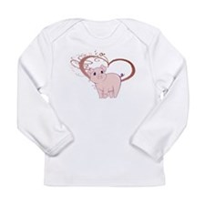 Cute Piggy Art Long Sleeve T-Shirt