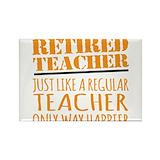 Retired teacher 10 Pack