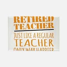 Happy Retired Teacher Magnets