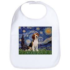 Starry Night & Beagle Pup Bib