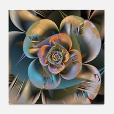 Exotic Blossom 3 Tile Coaster