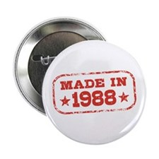 "Made In 1988 2.25"" Button"
