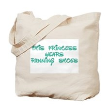 This Princess Wears Running Shoes Tote Bag