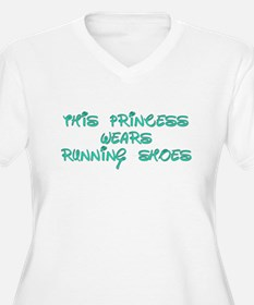 This Princess Wears Running Shoes Plus Size T-Shir