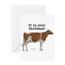 Guernsey Birthday Greeting Card