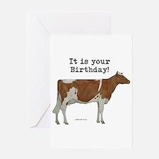 Guernsey Birthday Greeting Card
