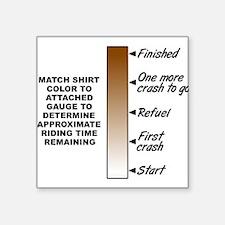 Dirt Gauge Dirt Bike Motocross Funny Shirt Sticker