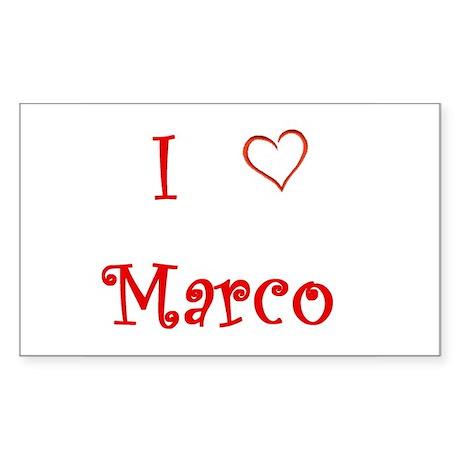 I heart Marco Rubio Sticker