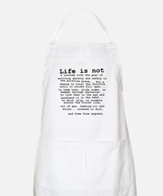 Life Is Not Dirt Bike Motocross Shirt Apron