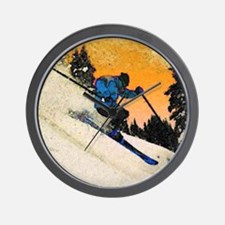 skier1 Wall Clock
