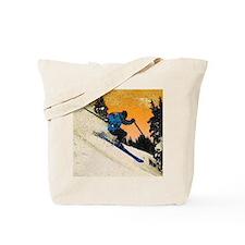 skier1 Tote Bag