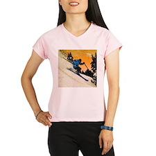 skier1 Peformance Dry T-Shirt