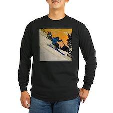 skier1 Long Sleeve T-Shirt